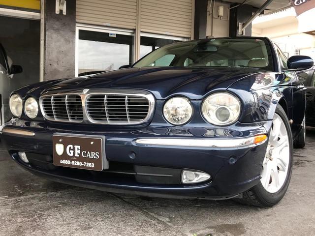 沖縄の中古車 ジャガー XJ 車両価格 ASK リ済込 2006(平成18)年 10.3万km 紺