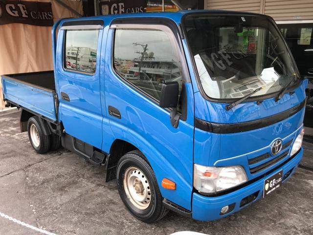 沖縄県宜野湾市の中古車ならダイナトラック  Wキャブ