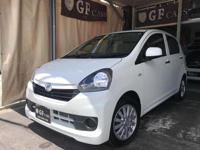 沖縄の中古車 ダイハツ ミライース 車両価格 49万円 リ済込 2015(平成27)年 3.0万km ホワイト