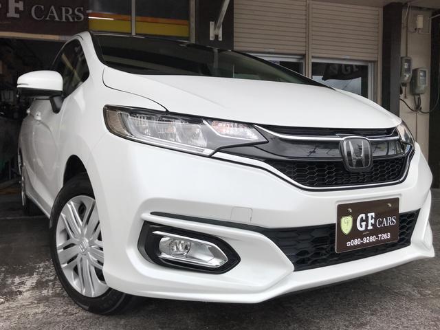沖縄県宜野湾市の中古車ならフィット 13G・L ホンダセンシング 5年長期保証付き・ドライブレコーダー(前後)・Bluetooth・ワンセグ&DVD&ナビ・スマートキー・ETC
