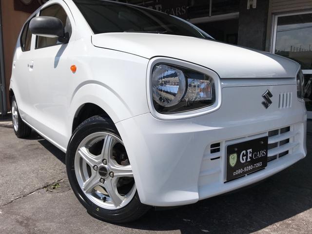 沖縄県宜野湾市の中古車ならアルト L 2年保証付き・アイドリングストップ・Rシートヒーター・ETC・PW・衝突安全ボディ