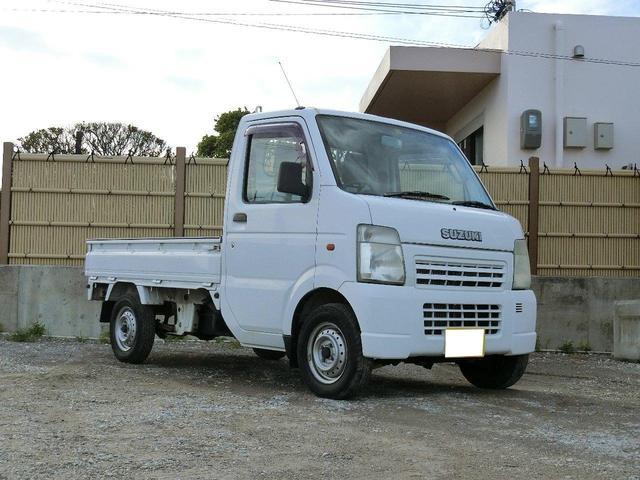 沖縄の中古車 スズキ キャリイトラック 車両価格 32万円 リ済別 2002(平成14)年 6.7万km ホワイト
