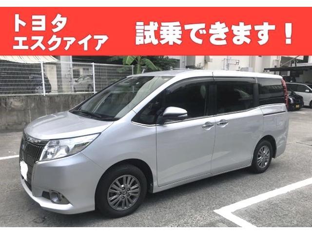 沖縄の中古車 トヨタ エスクァイア 車両価格 143万円 リ済込 2016(平成28)年 7.0万km ガンM