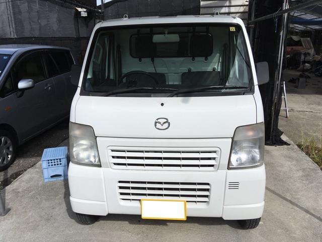 沖縄の中古車 マツダ スクラムトラック 車両価格 32万円 リ済込 2009(平成21)年 10.4万km ホワイト