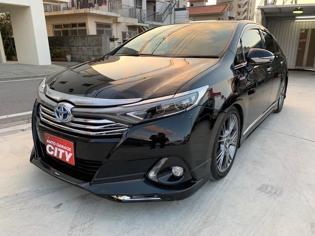 沖縄の中古車 トヨタ SAI 車両価格 219万円 リ済込 2016(平成28)後 4.3万km ブラック