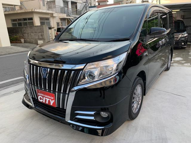 沖縄の中古車 トヨタ エスクァイア 車両価格 245万円 リ済込 2016(平成28)年 5.9万km ブラック