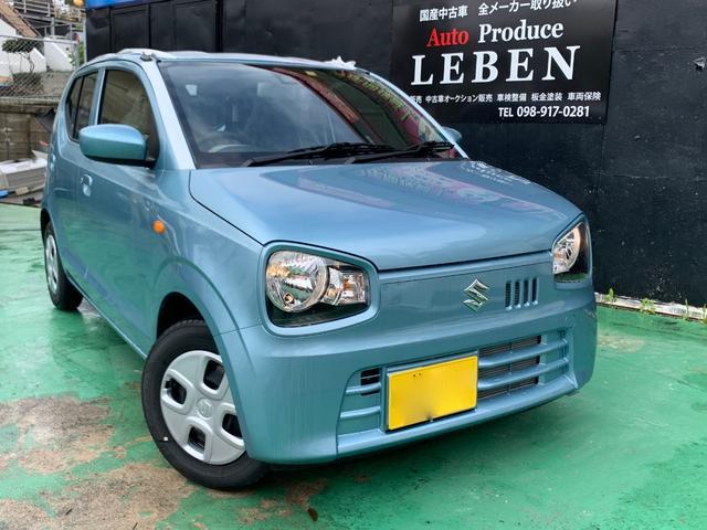 沖縄県浦添市の中古車ならアルト L レーダーブレーキサポート コーナーセンサー(リアのみ) 新品オプション(バイザー+フロアーマット)