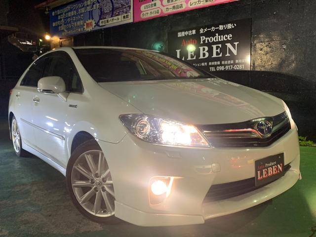 沖縄の中古車 トヨタ SAI 車両価格 82万円 リ済込 2011(平成23)年 7.5万km ホワイトM