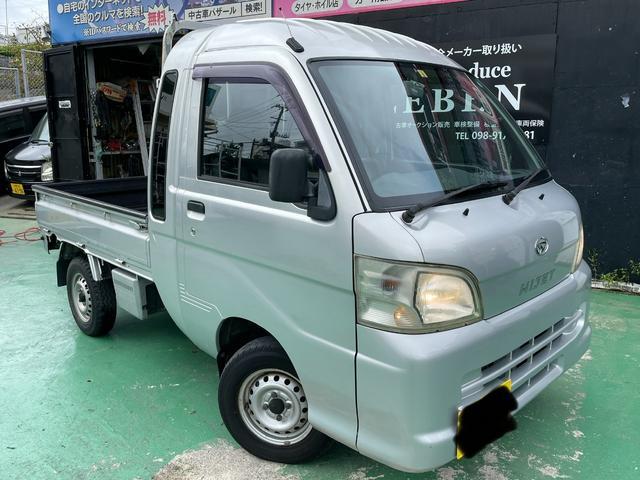 沖縄県の中古車ならハイゼットトラック ジャンボ シートカバー 光軸調整 パートタイム4WD