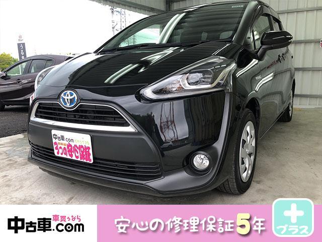 沖縄の中古車 トヨタ シエンタ 車両価格 117万円 リ済込 2015(平成27)年 7.9万km ブラック