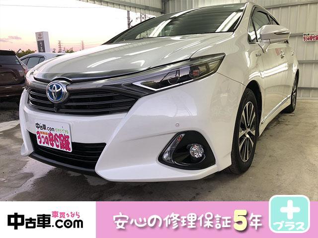 沖縄の中古車 トヨタ SAI 車両価格 134万円 リ済込 2013(平成25)年 8.0万km パールホワイト