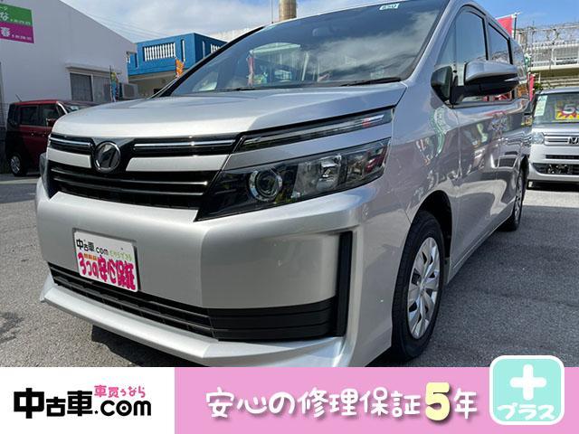 沖縄の中古車 トヨタ ヴォクシー 車両価格 120万円 リ済込 2015(平成27)年 7.5万km シルバー
