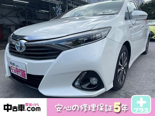 トヨタ S Cパッケージ 5年保証付(HVバッテリー含む♪) ワンセグBT&バックカメラ ブレーキアシスト搭載車
