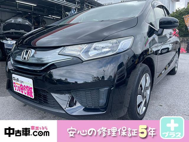 沖縄県の中古車ならフィットハイブリッド Fパッケージ 5年保証付(HVバッテリー含む♪) フルセグBT タイヤ4本&シートカバー新品