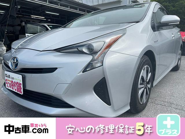 沖縄の中古車 トヨタ プリウス 車両価格 113万円 リ済込 2016(平成28)年 8.0万km シルバー