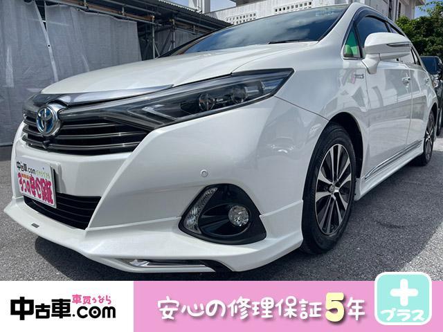 沖縄県の中古車ならSAI G 5年保証付  ドラレコ前後カメラ付 ブレーキアシスト搭載車 コーナーセンサー モデリスタエアロ