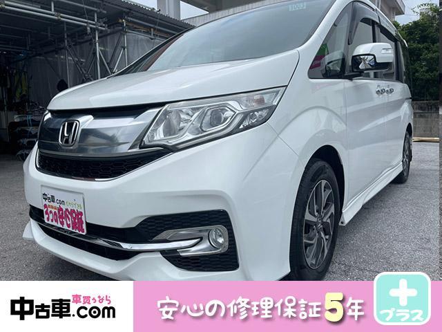 沖縄の中古車 ホンダ ステップワゴンスパーダ 車両価格 168万円 リ済込 2015(平成27)年 7.1万km パールホワイト