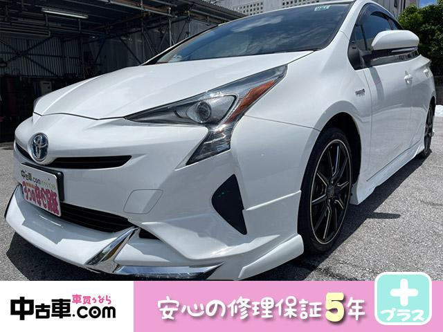 トヨタ S 5年保証付♪ ワンセグBT&バックカメラ付  17インチアルミホイール LEDフォグ付フルエアロ