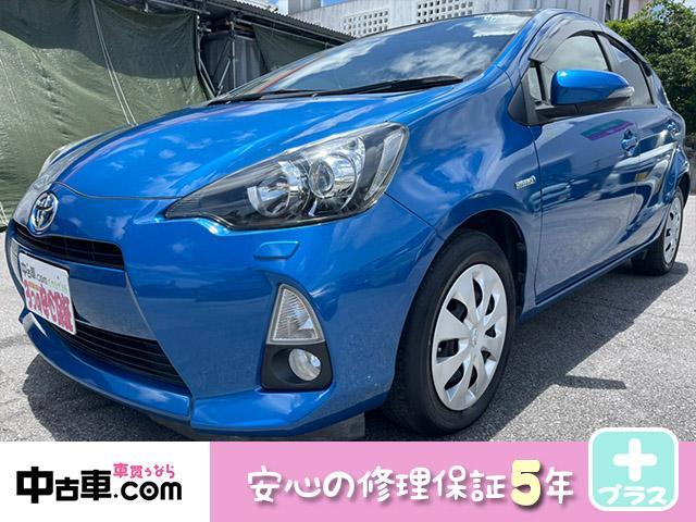 トヨタ S 5年保証付(HVバッテリー含む♪) ワンセグBT&バックカメラ付!! タイヤ4本&バッテリー新品