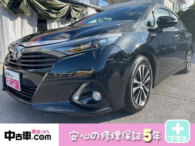 沖縄の中古車 トヨタ SAI 車両価格 138万円 リ済込 2016(平成28)年 10.6万km ブラック