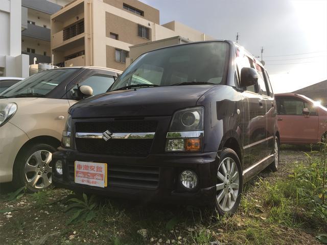 沖縄県の中古車ならワゴンR RR-Sリミテッド 選べる安心保証plus 2年 ターボ車