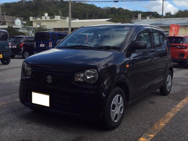 沖縄の中古車 スズキ アルト 車両価格 73万円 リ済込 2019(平成31)年 0.8万km ブラウン
