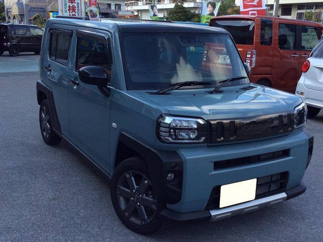 沖縄の中古車 ダイハツ タフト 車両価格 159万円 リ済込 2020(令和2)年 0.1万km ライトブルー