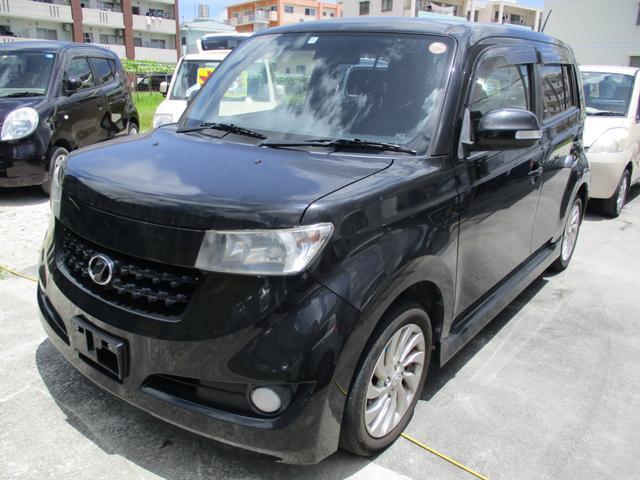 沖縄の中古車 トヨタ bB 車両価格 29万円 リ済別 2008(平成20)年 8.5万km ブラックM