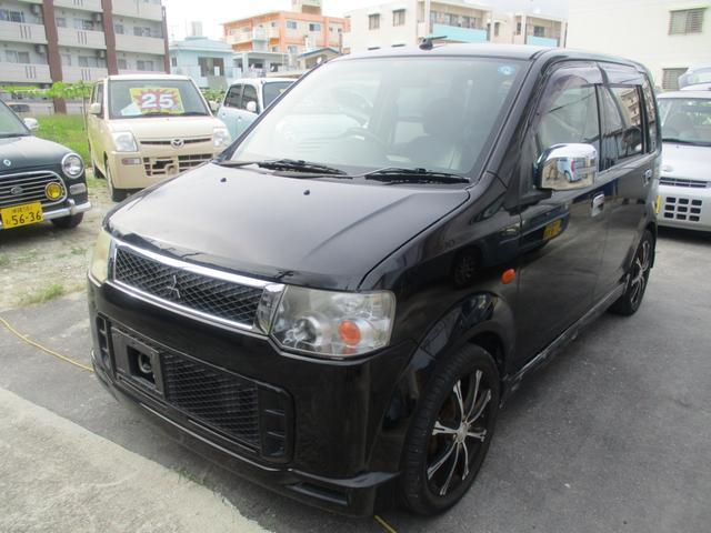 沖縄県の中古車ならeKスポーツ X CD・DVD・USBオーディオ・社外アルミ・シートカバー