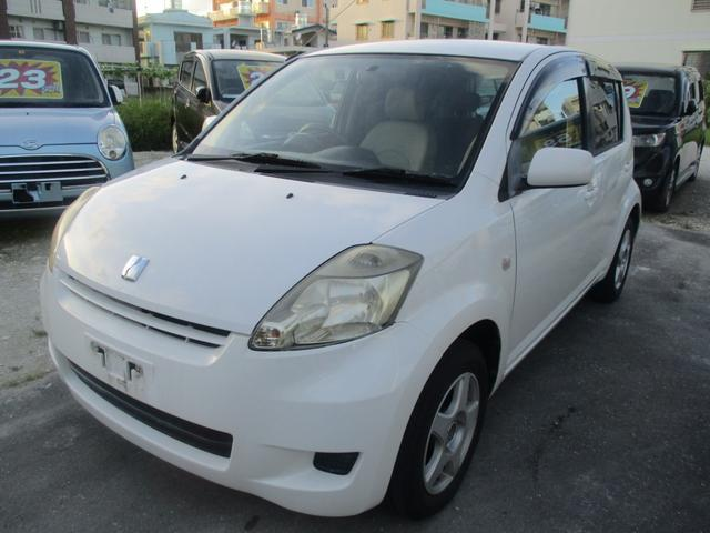 沖縄の中古車 トヨタ パッソ 車両価格 10万円 リ済別 2007(平成19)年 13.1万km ホワイトII