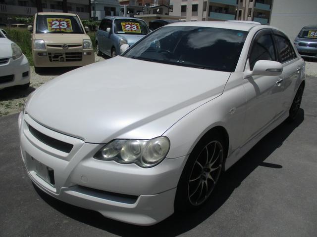 沖縄県の中古車ならマークX 250G CD・DVD・HDD・ナビ・TV 社外アルミ