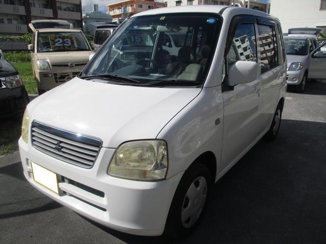 沖縄の中古車 三菱 トッポBJ 車両価格 14万円 リ済別 2001(平成13)年 12.0万km ホワイトII