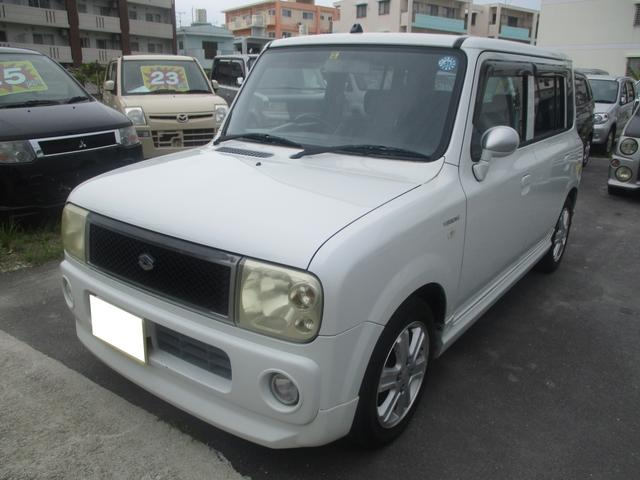 沖縄県の中古車ならアルトラパン バージョンV ターボ フルエアロ ワンセグTV・ナビ・DVD