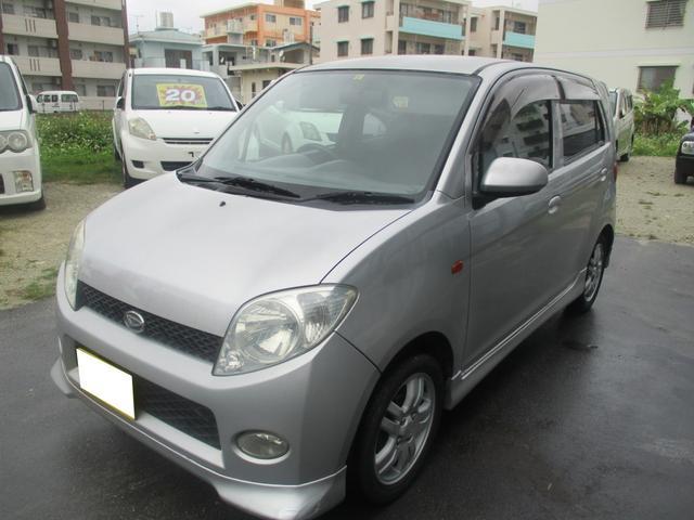 沖縄の中古車 ダイハツ MAX 車両価格 14万円 リ済別 2002(平成14)年 16.7万km シルバー
