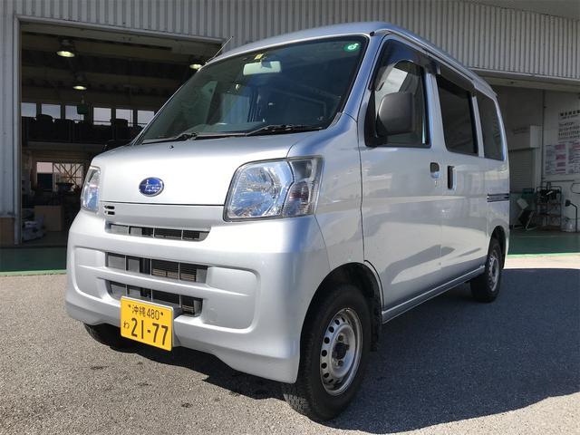 沖縄県の中古車ならサンバーバン トランスポーター ナビ ETC バックカメラ