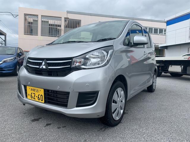 沖縄県の中古車ならeKワゴン E e-アシスト コーナーセンサー ナビ ETC バックカメラ 車検整備付