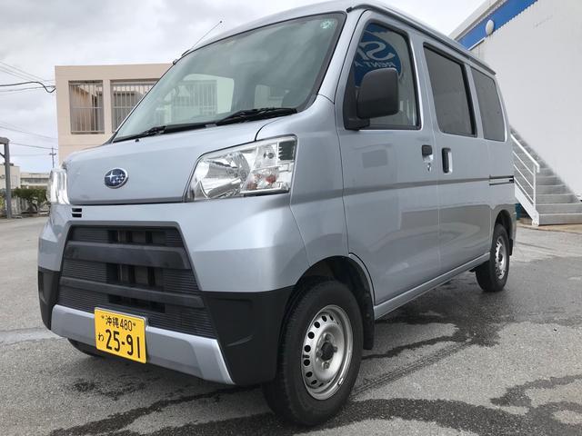 沖縄県豊見城市の中古車ならサンバーバン トランスポーター カーナビ ETC バックカメラ
