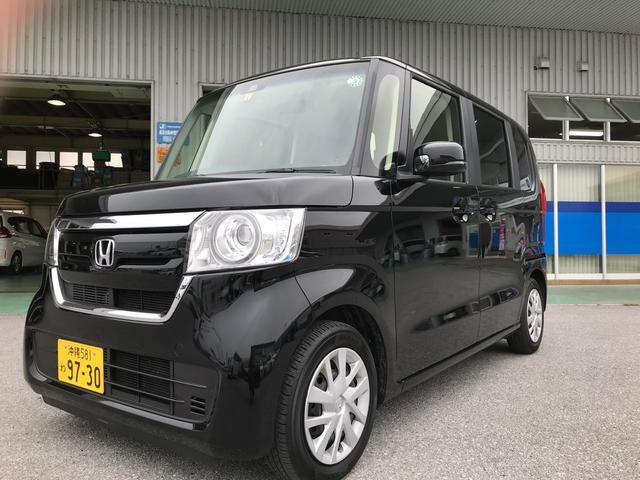 沖縄県の中古車ならN-BOX G・Lホンダセンシング 助手席後ろパワースライドドア カーナビ ETC バックカメラ