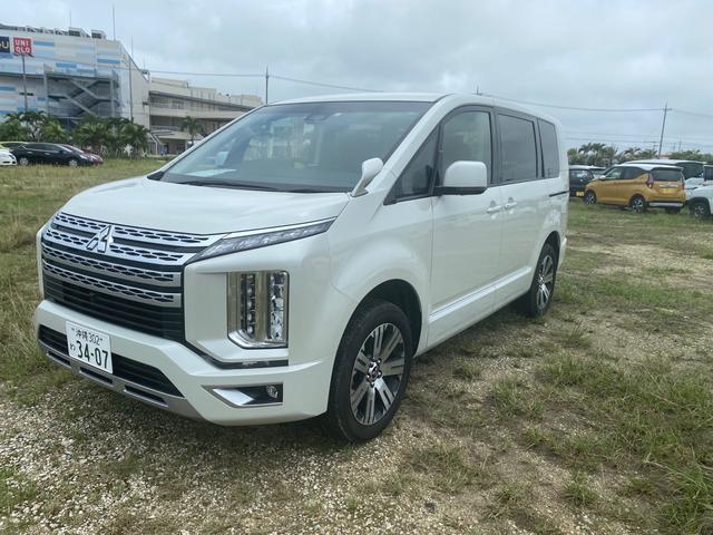 沖縄県の中古車ならデリカD:5 G パワーパッケージ カーナビ(Bluetooth付) バックカメラ ETC 衝突被害軽減システム