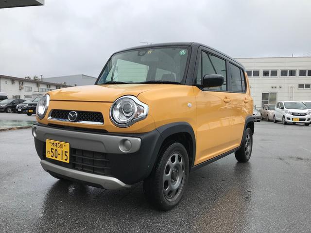 沖縄の中古車 マツダ フレアクロスオーバー 車両価格 91万円 リ済込 2018(平成30)年 6.2万km アクティブイエローII