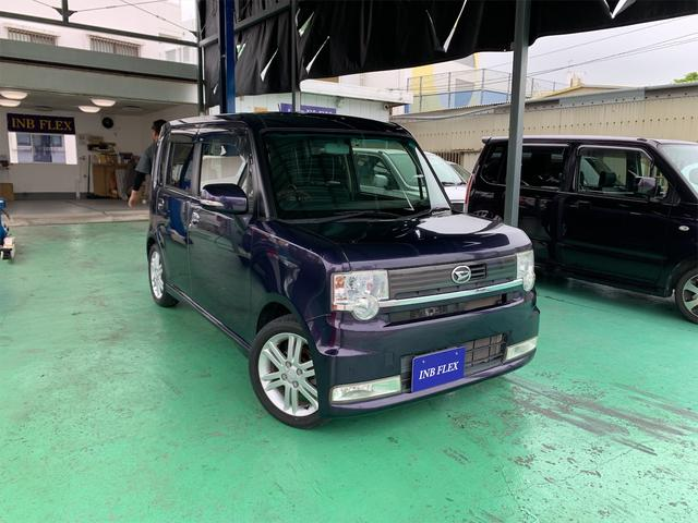 沖縄県の中古車ならムーヴコンテ カスタム RS スマートキー SDナビ フルセグTV CD/DVD Bluetoothオーディオ