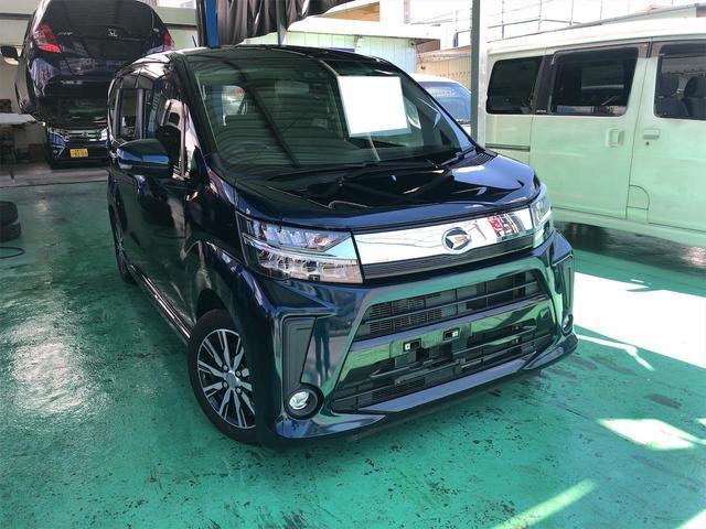 沖縄の中古車 ダイハツ ムーヴ 車両価格 92万円 リ済込 2017(平成29)年 4.4万km ブルーM
