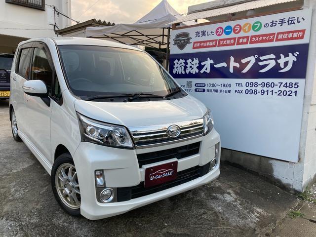 沖縄県沖縄市の中古車ならムーヴ カスタム X SA スマートキー LEDヘッドライト フルセグTV Bluetoothオーディオ ETC