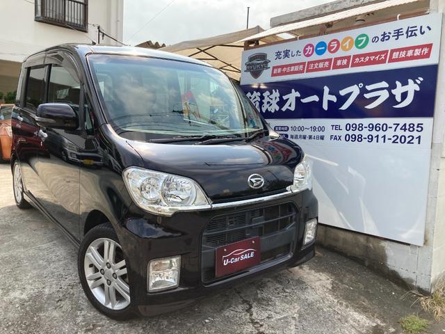 沖縄県の中古車ならタントエグゼ カスタムRS スマートキー HIDライト フルセグTV AUX バックカメラ ETC 15インチアルミ