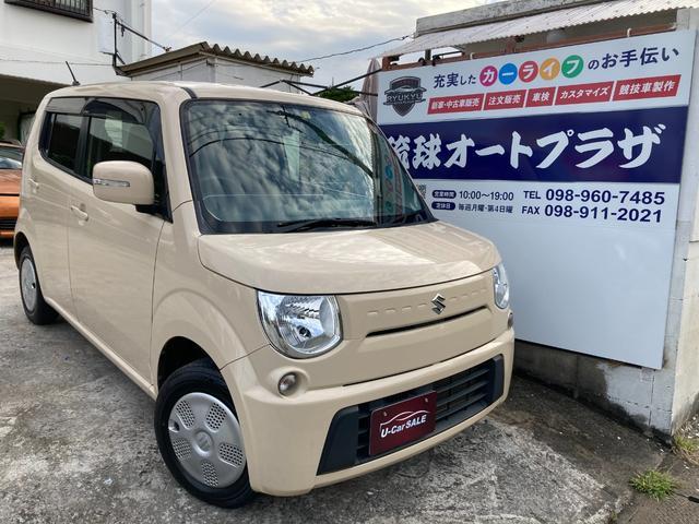 沖縄の中古車 スズキ MRワゴン 車両価格 33万円 リ済込 2012(平成24)年 9.4万km ライトイエロー