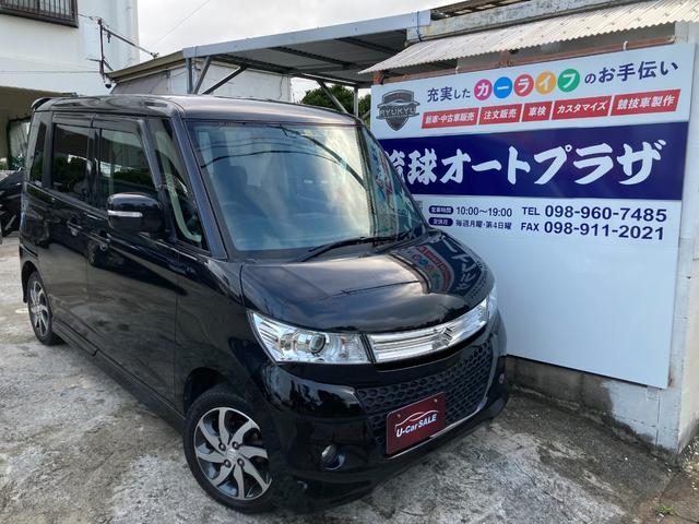 沖縄県の中古車ならパレットSW XS スマートキー HIDライト 片側パワースライドドア ETC 新品タイヤ