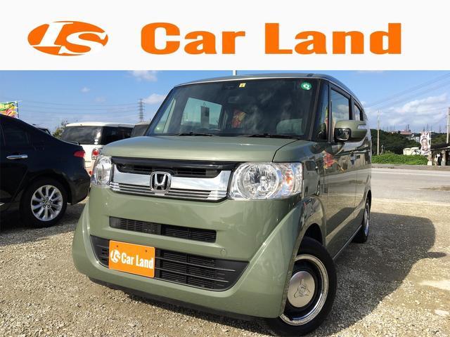 沖縄の中古車 ホンダ N-BOXスラッシュ 車両価格 139万円 リ済込 2019(令和1)年 0.4万km Lグリーン