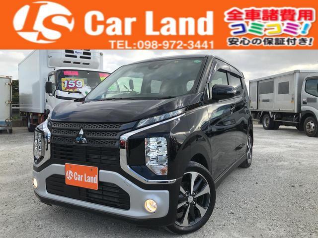 沖縄の中古車 三菱 eKクロス 車両価格 109万円 リ済込 2020(令和2)年 0.4万km ブラックM