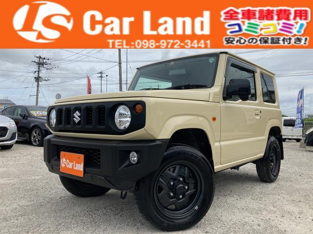 沖縄の中古車 スズキ ジムニー 車両価格 189万円 リ済込 2020(令和2)年 1.2万km ベージュ