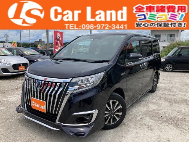 沖縄の中古車 トヨタ エスクァイア 車両価格 299万円 リ済込 2018(平成30)年 3.2万km スパークリングブラック